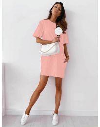 Фустан - код 7236 - розова