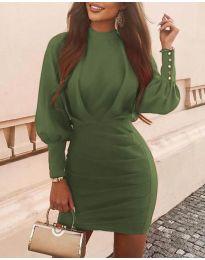 Фустан - код 4016 - путер зелена