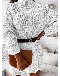 Фустан - код 6071 - бело