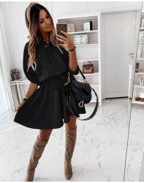 Фустан - код 8586 - црна