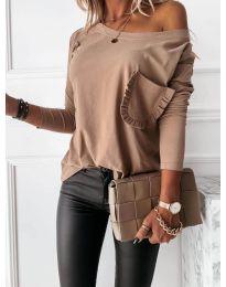 Блуза - код 0382 - капучино