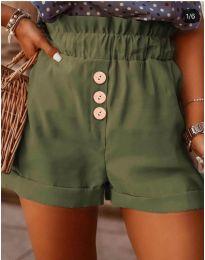 Кратки панталони - код 9383 - зелена