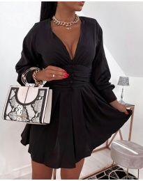 Фустан - код 4343 - црна