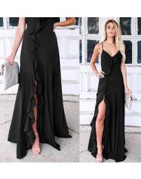 Фустан - код 4488 - црна