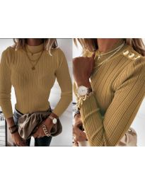 Блуза - код 9930 - окер