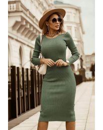 Фустан - код 8485 - зелена