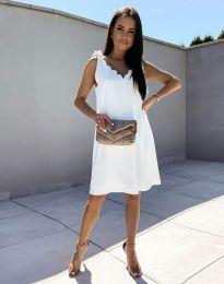 Фустан - код 2504 - бело