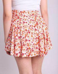 Пола тип панталон с атрактивен десен на цветя - код 2022 - 1