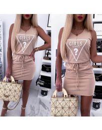 Фустан - код 2233 - розова