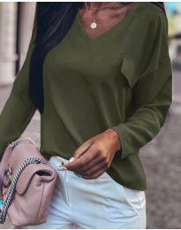 Блуза - код 894 - путер зелена