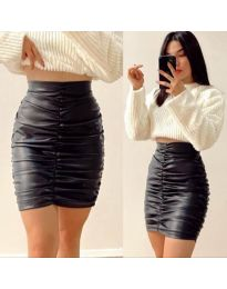 Сукња - код 1228 - 1 - црна