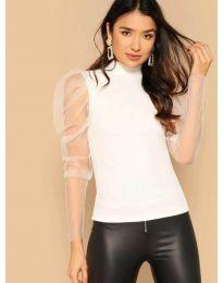 Блуза - код 3562 - бела