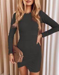Фустан - код 2835 - графитна