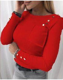 Блуза - код 1597 - 1 - црвена