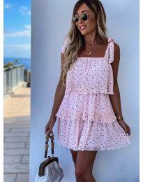 Фустан - код 6140 - розова