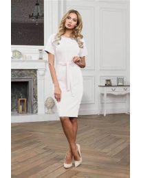 Фустан - код 3698 - бело