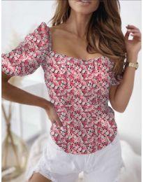 Блуза - код 9897 - розова