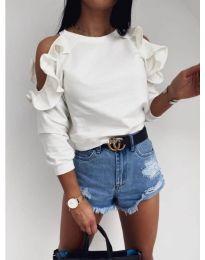 Блуза - код 3434 - бела