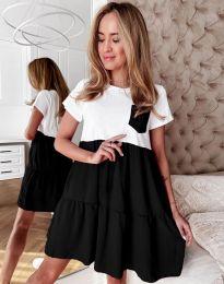 Фустан - код 2506 - црна