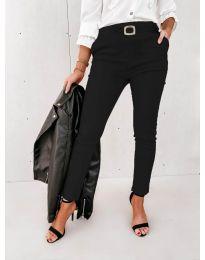 Панталони - код 5424 - 1 - црна