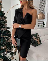 Фустан - код 15944 - 2 - црна