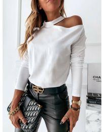 Блуза - код 41511 - бело