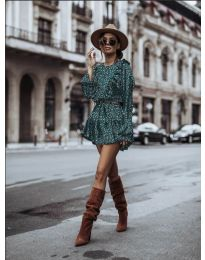 Фустан - код 0701 - путер зелена