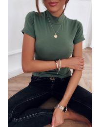 Блуза - код 411 - путер зелена