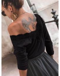 Блуза - код 188 - црна