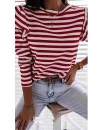 Блуза - код 5581 - црвена