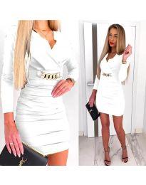 Фустан - код 8999 - бела