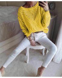 Блуза - код 6182 - окер