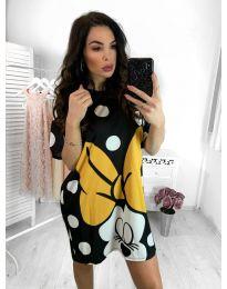 Фустан - код 640 - црна