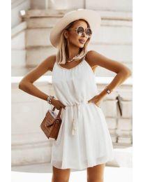 Фустан - код 8800 - бело