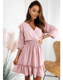 Фустан - код 8554 - розова