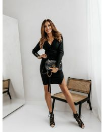 Фустан - код 9510 - 1 - црна