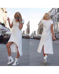 Фустан - код 336 - бело