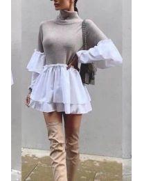 Фустан - код 1188 - кремова