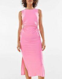 Фустан - код 1272 - розова