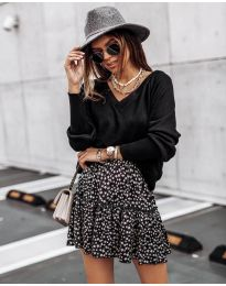 Блуза - код 2629 - црна
