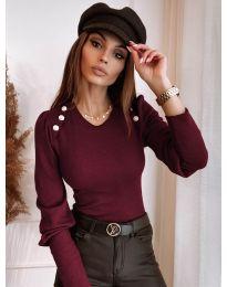 Блуза - код 3111 - црвена