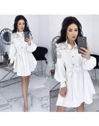 Фустан - код 6364 - бело