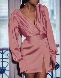 Фустан - код 5324 - розова
