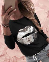Блуза - код 12091 - црна