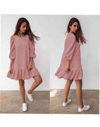 Фустан - код 784 - пудра
