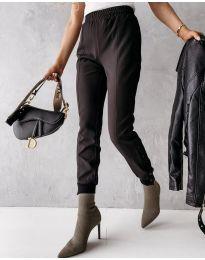 Панталони - код 3987 - црна