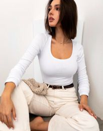 Блуза - код 11662 - бела