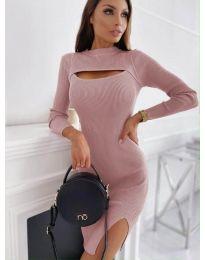 Фустан - код 4528 - розова