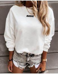 Блуза - код 5154 - бело