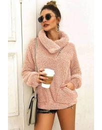 Блуза - код 2219 - розова